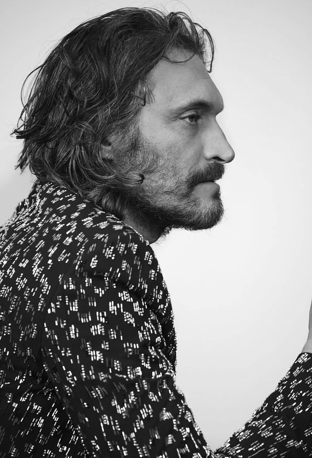 Vincent Gallo covers AnOther Man Spring Summer 2018 by Collier Schorr