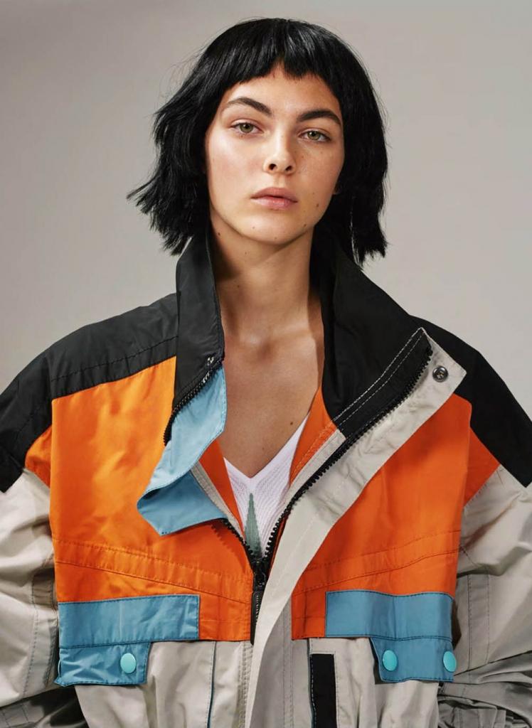 Vittoria Ceretti by Collier Schorr for British Vogue April 2018