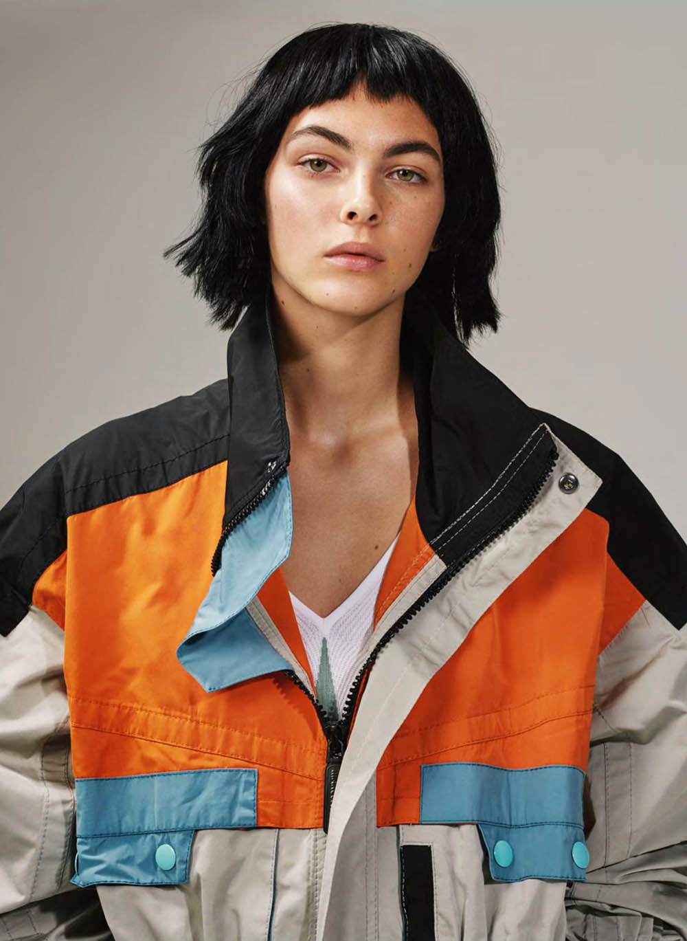 Vittoria Ceretti by Collier Schorr for British Vogue April 2018
