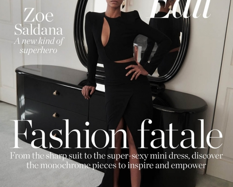 Zoe Saldana covers Porter Edit April 6th, 2018 by Ward Ivan Rafik
