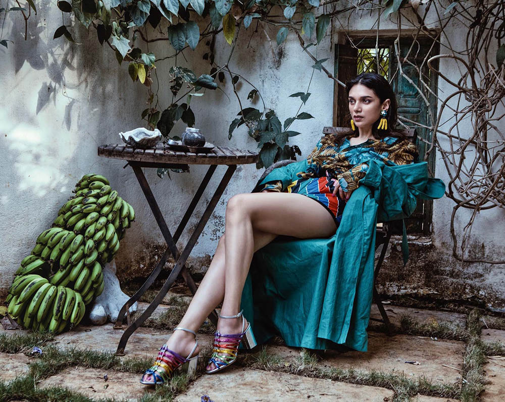 Aditi Rao Hydari covers Vogue India May 2018 by Errikos Andreou