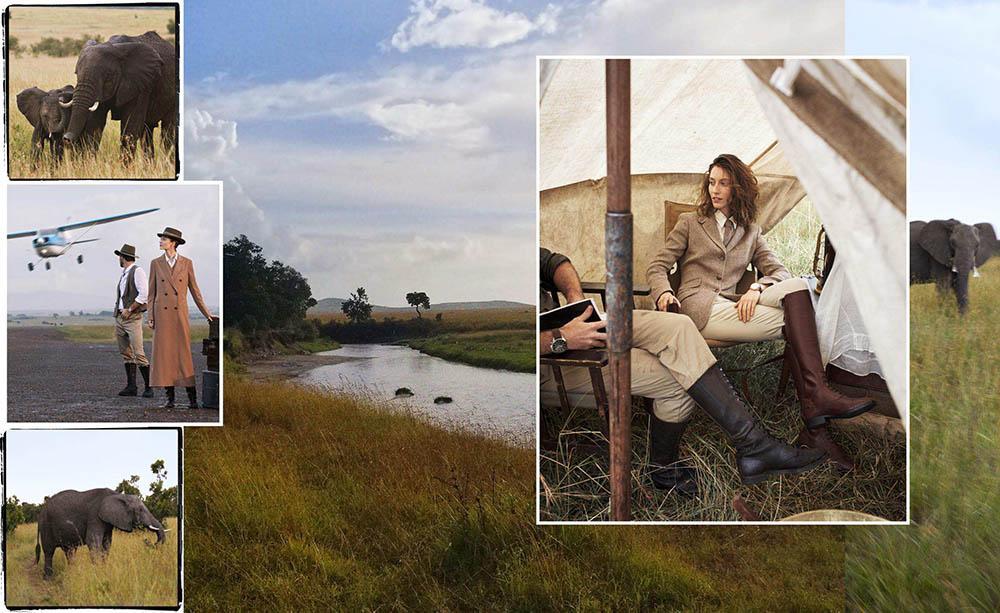 Alana Zimmer and Ben Evans by Alexi Lubomirski for Harper's Bazaar US June 2018