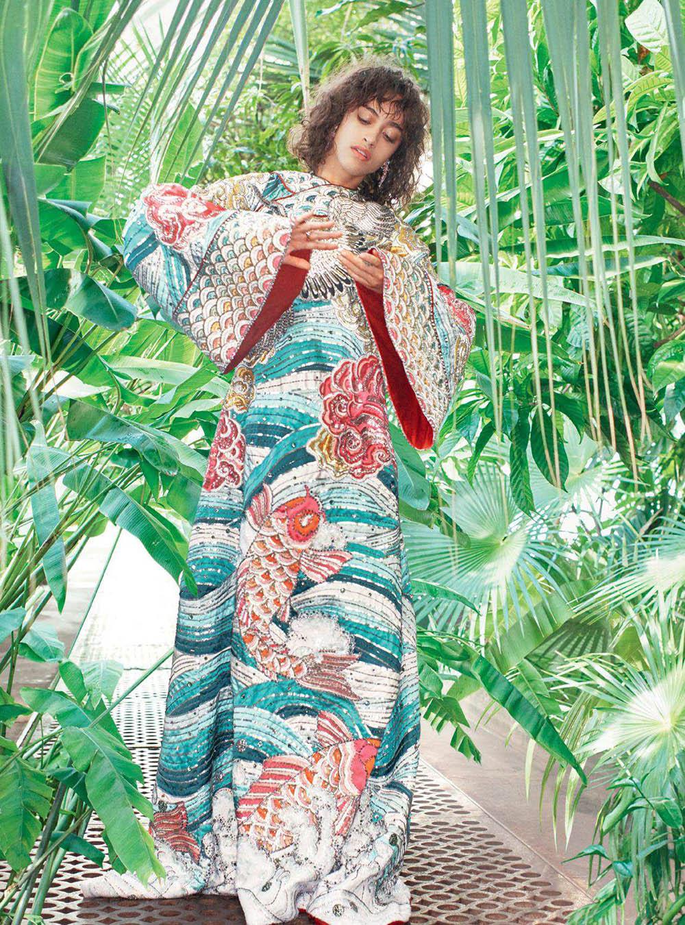Alanna Arrington by Michelangelo di Battista for Harper's Bazaar UK May 2018
