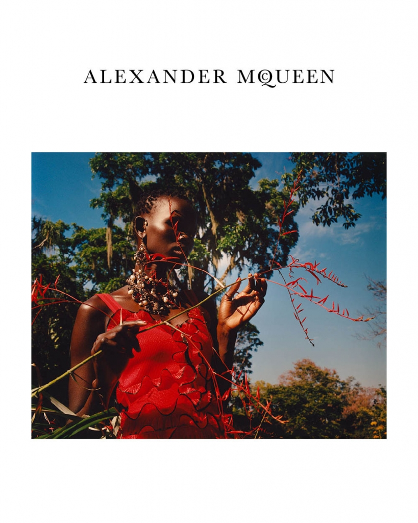 Alexander McQueen Spring Summer 2018 Campaign