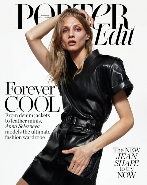 Anna Selezneva covers Porter Edit May 11th, 2018 by Hanna Tveite