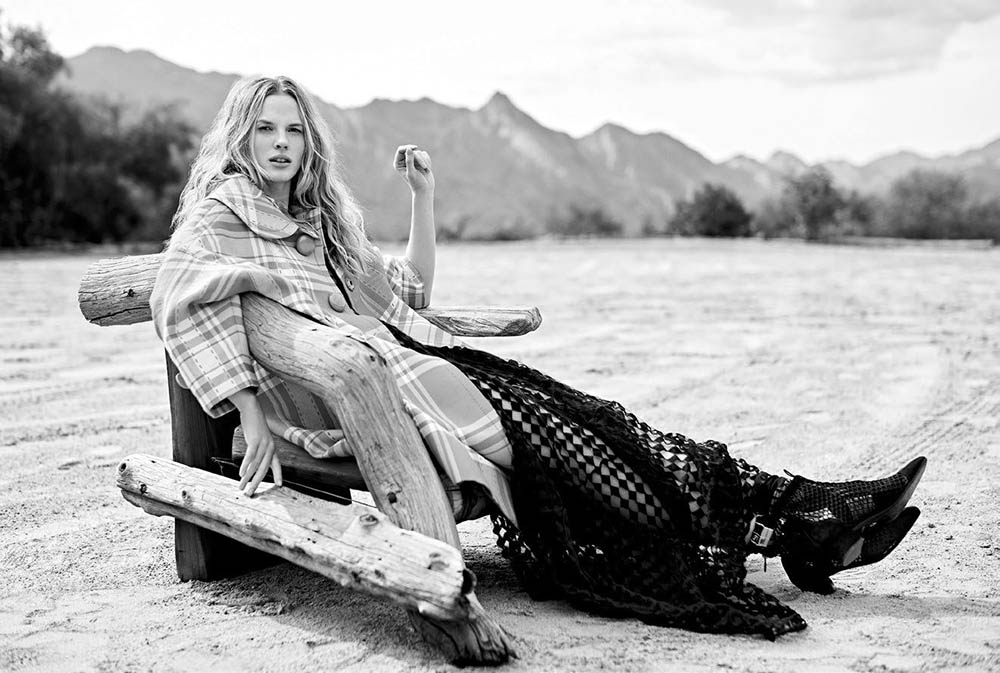 Anne Vyalitsyna by Derek Kettela for Vogue Arabia May 2018