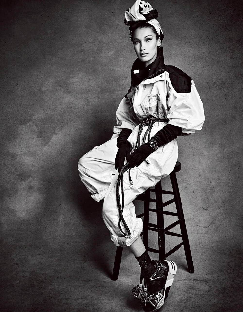 Bella Hadid covers Vogue Japan May 2018 by Patrick Demarchelier