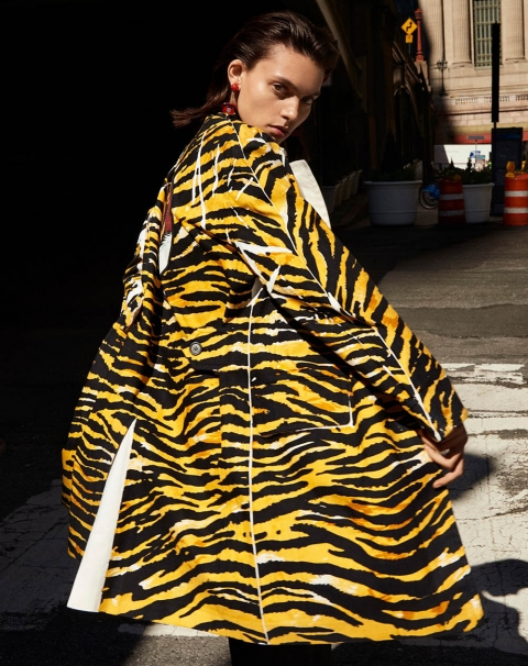 Charlee Fraser by Louis Christopher for Vogue Arabia May 2018