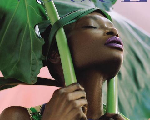 Debra Shaw covers Vogue Portugal May 2018 by Dan Beleiu