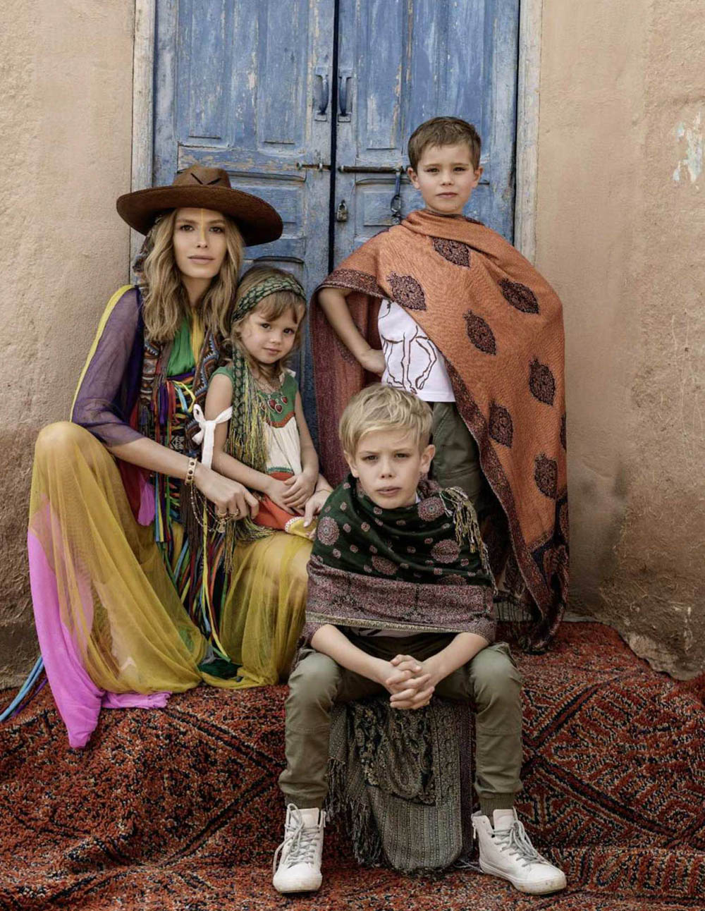 Elena Perminova covers Elle Russia May 2018 by Gilles Bensimon