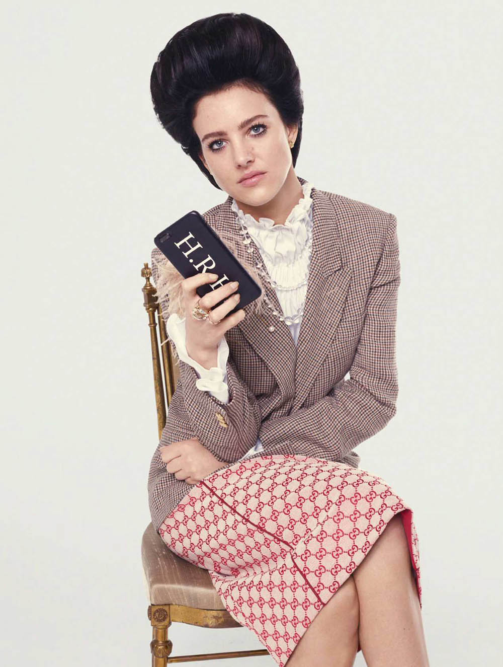 Eliza Cummings by Phil Poynter for Elle UK June 2018