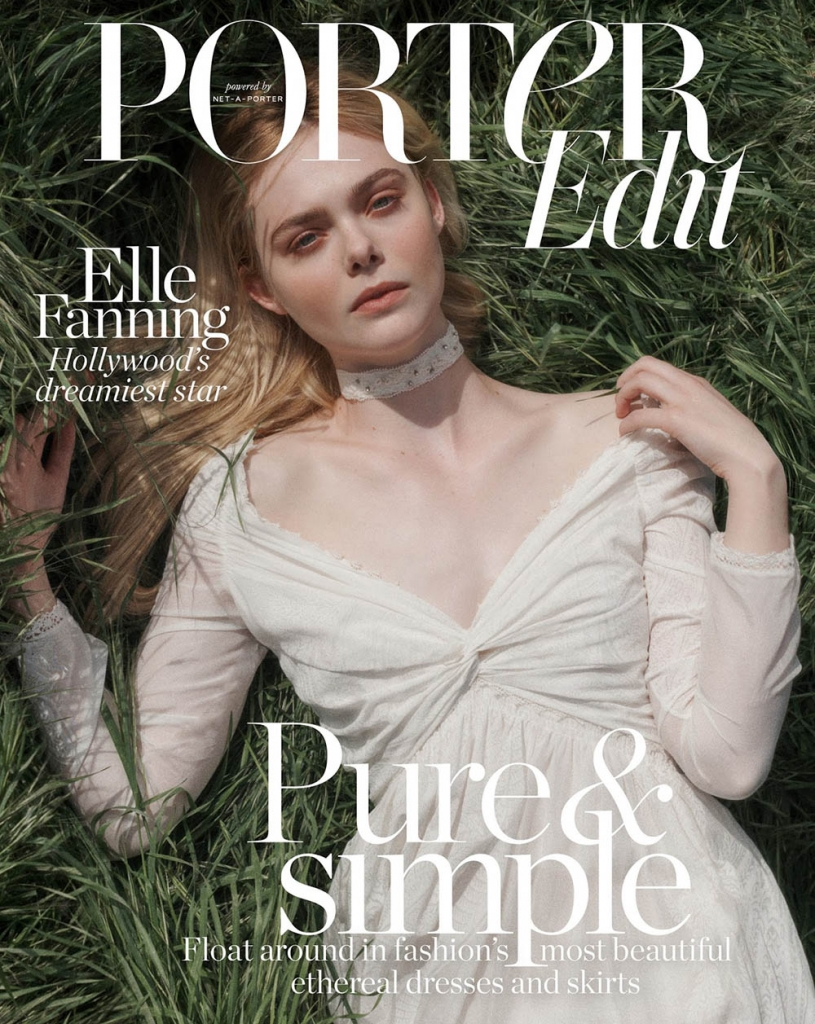 Elle Fanning covers Porter Edit May 4th, 2018 by Benny Horne