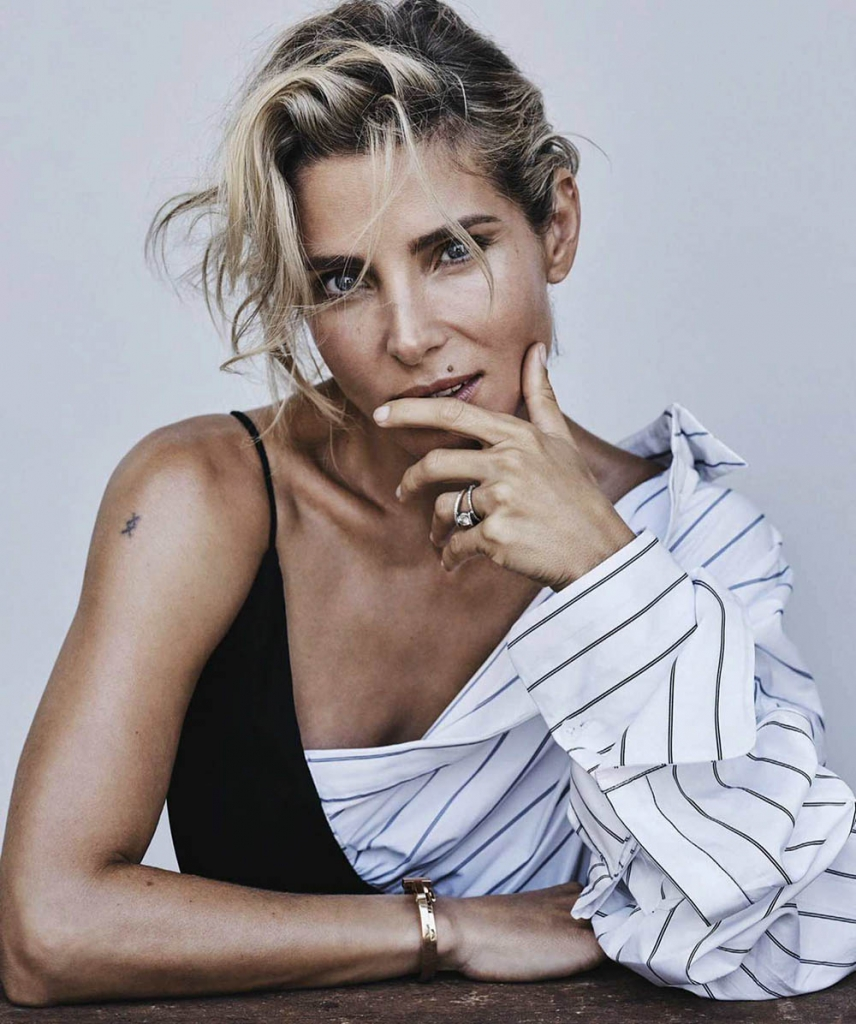 Elsa Pataky by Nicole Bentley for Vogue Australia May 2018