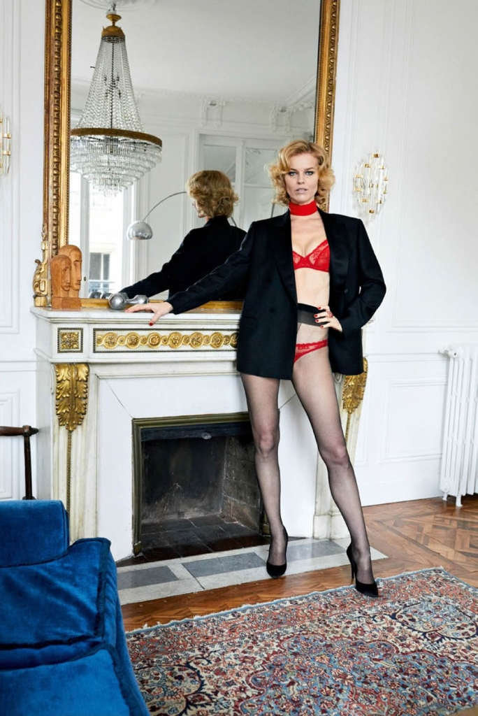 Eva Herzigova by Juergen Teller for Vogue Paris May 2018