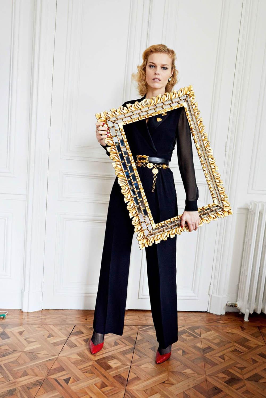 Eva Herzigova by Juergen Teller for Vogue Paris May 2018
