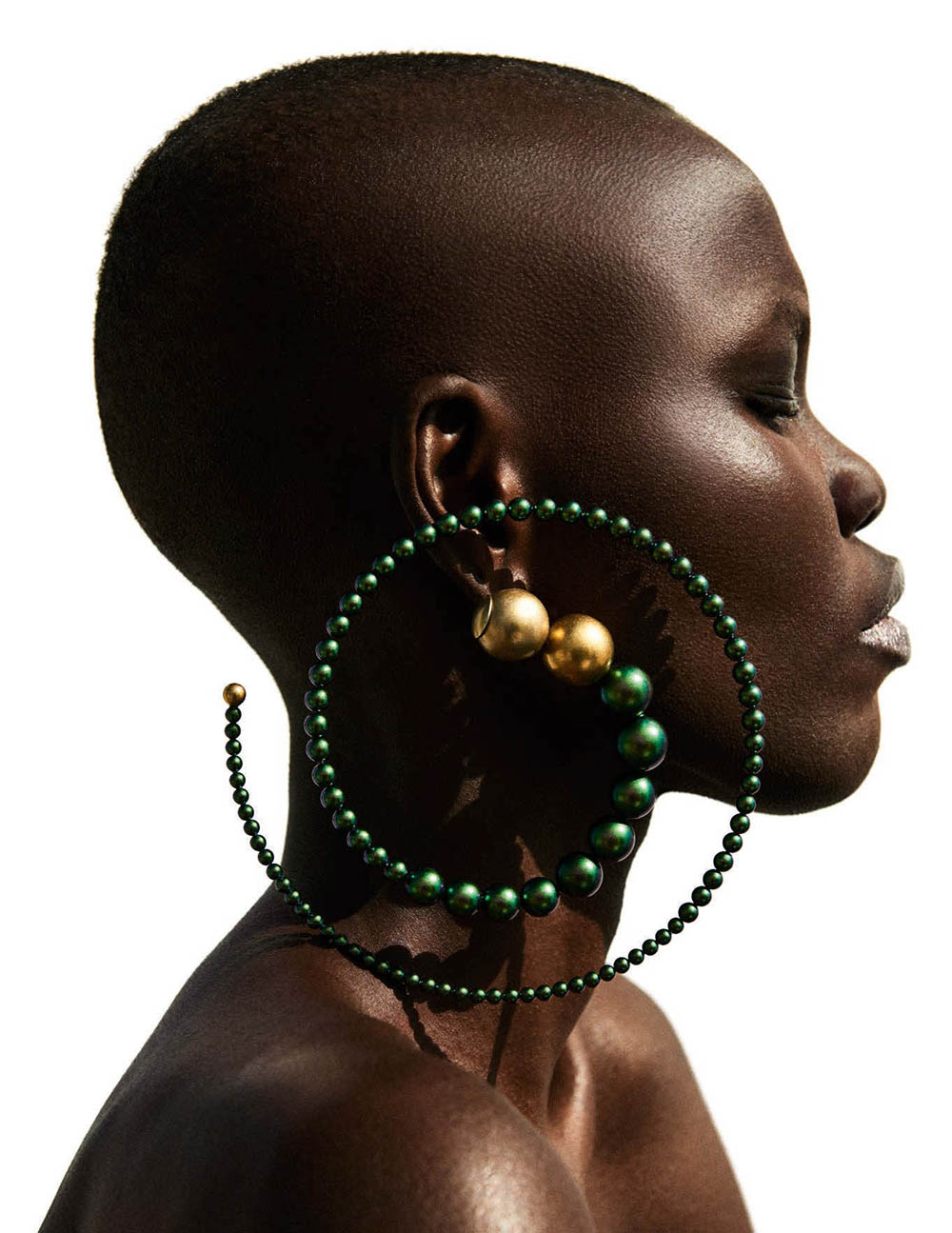Grace Bol by Giampaolo Sgura for Vogue Germany May 2018
