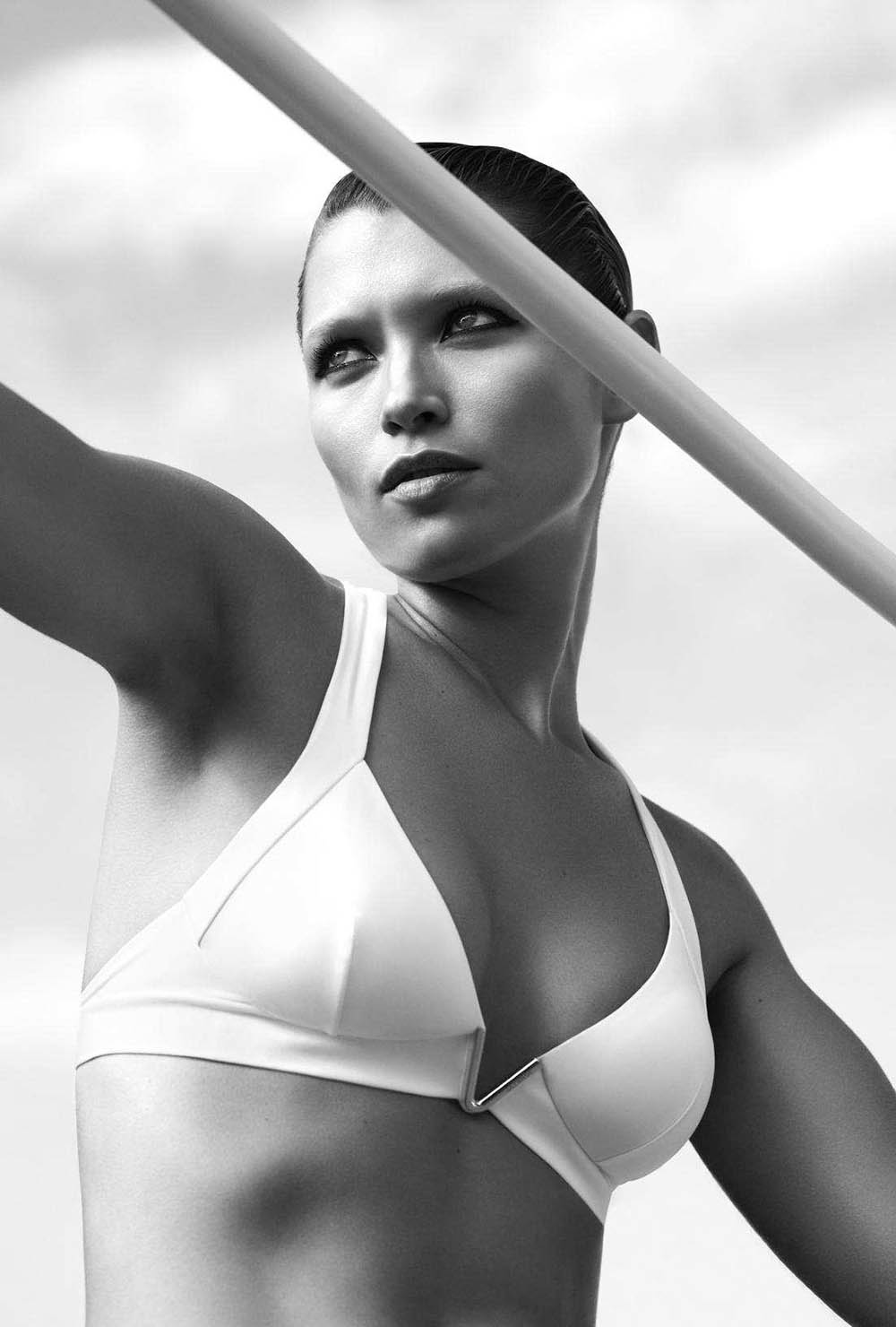 Hana Jirickova by Camilla Akrans for Harper's Bazaar US May 2018