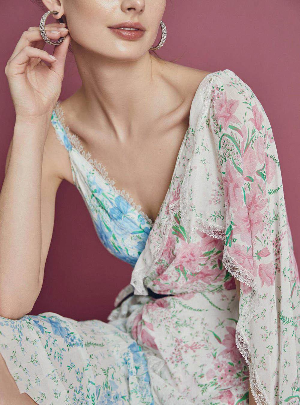Hanna Verhees by Lara Jade for Harper's Bazaar UK May 2018