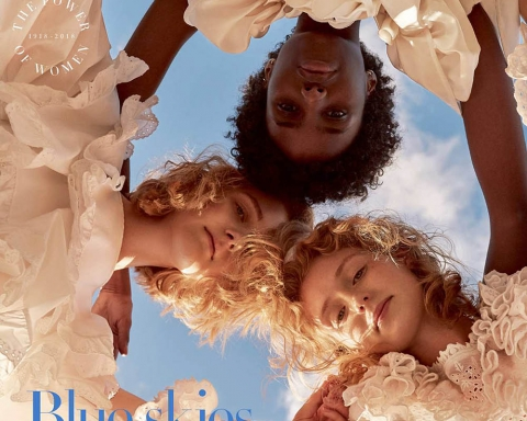 Harper's Bazaar UK May 2018 cover by Agata Pospieszynska
