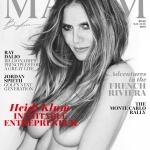 Heidi Klum covers Maxim US May June 2018 by Gilles Bensimon
