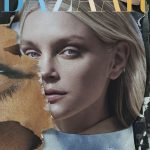 Jessica Stam covers Harper's Bazaar Czech May 2018 by Andreas Ortner
