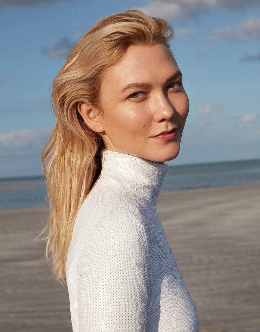 Karlie Kloss covers Porter Magazine Summer 2018 by Camilla Akrans