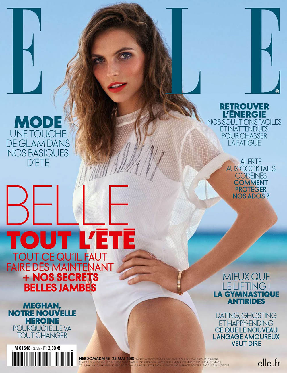 Karlina Caune Wiklund covers Elle France May 25th, 2018 by Jan Welters