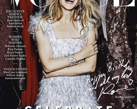 Kylie Minogue covers Vogue Australia May 2018 by Nicole Bentley