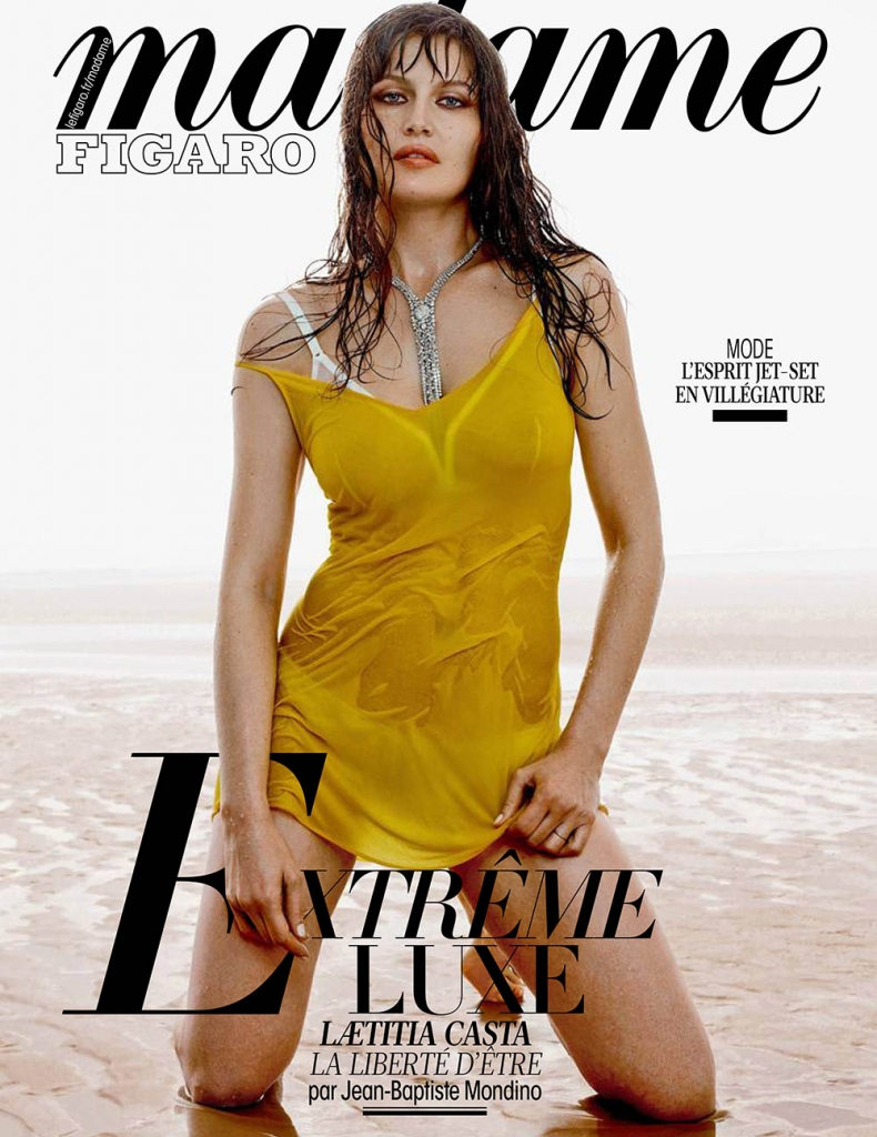 Laetitia Casta covers Madame Figaro May 18th, 2018 by Jean-Baptiste Mondino