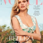 Lara Stone covers Vogue Spain May 2018 by Bjorn Iooss
