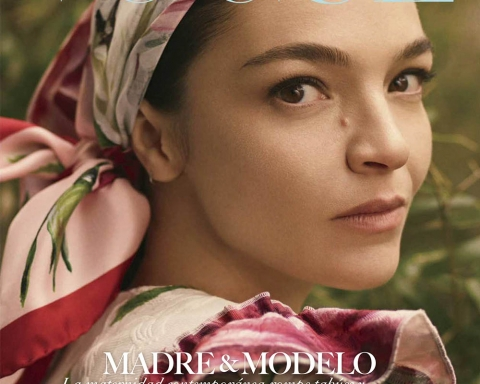 Mariacarla Boscono covers Vogue Mexico May 2018 by Stas Komarovski
