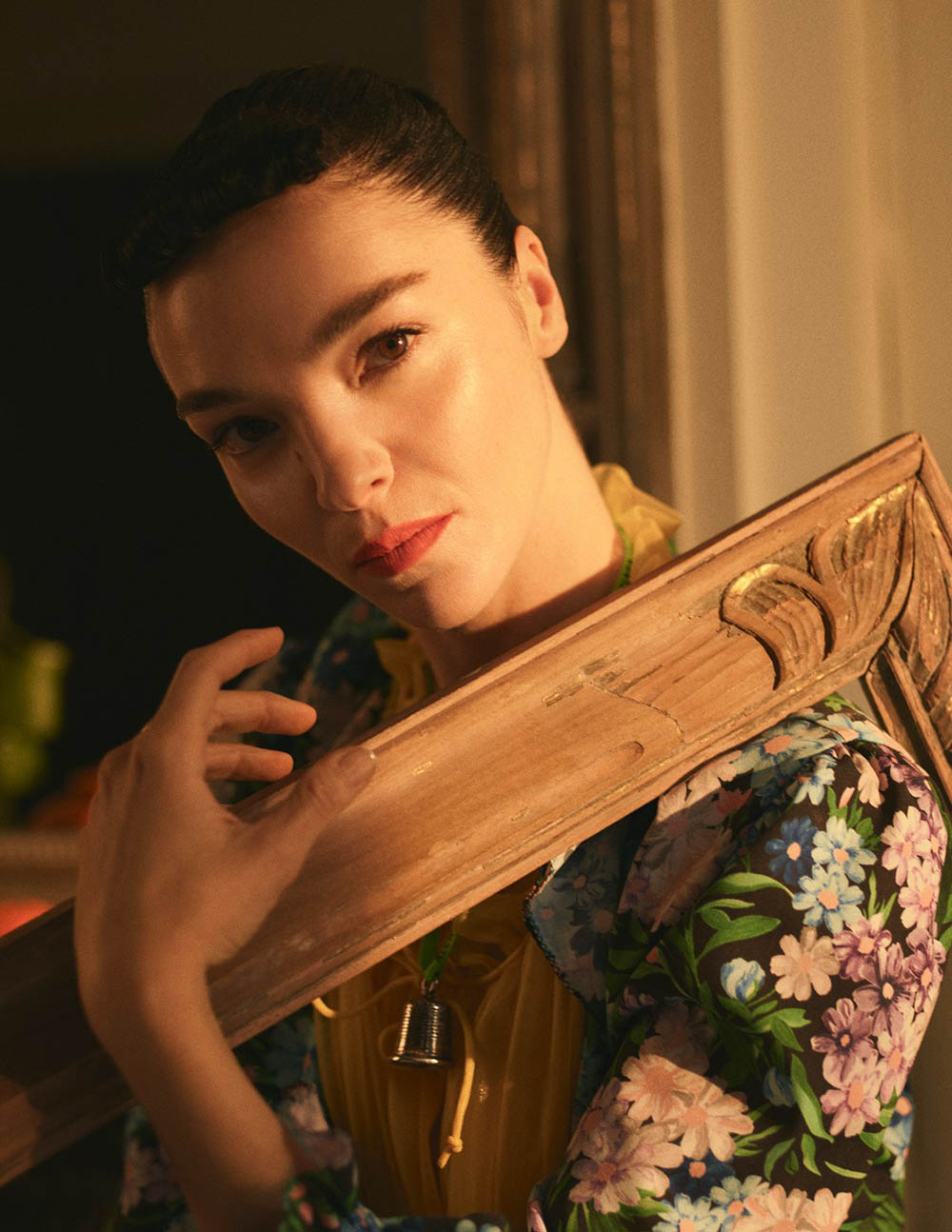 Mariacarla Boscono covers Vogue Mexico May 2018 by Stas Komarovski