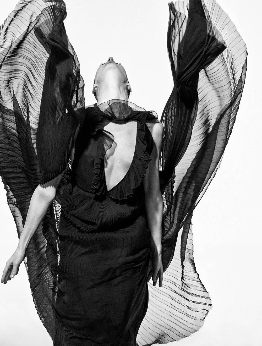 Marie-Agnès Gillot covers Numéro May 2018 by Koto Bolofo