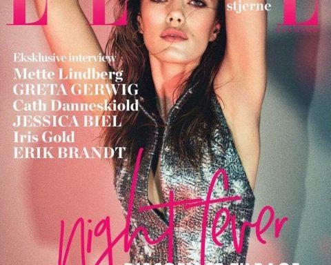 Mathilde Brandi covers Elle Denmark May 2018 by Asger Mortensen