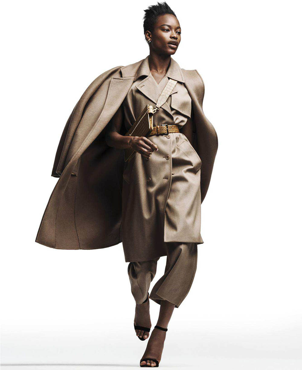 Mayowa Nicholas by Sebastian Kim for Harper's Bazaar US May 2018