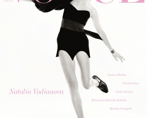 Natalia Vodianova covers Vogue Poland May 2018 by Christian MacDonald