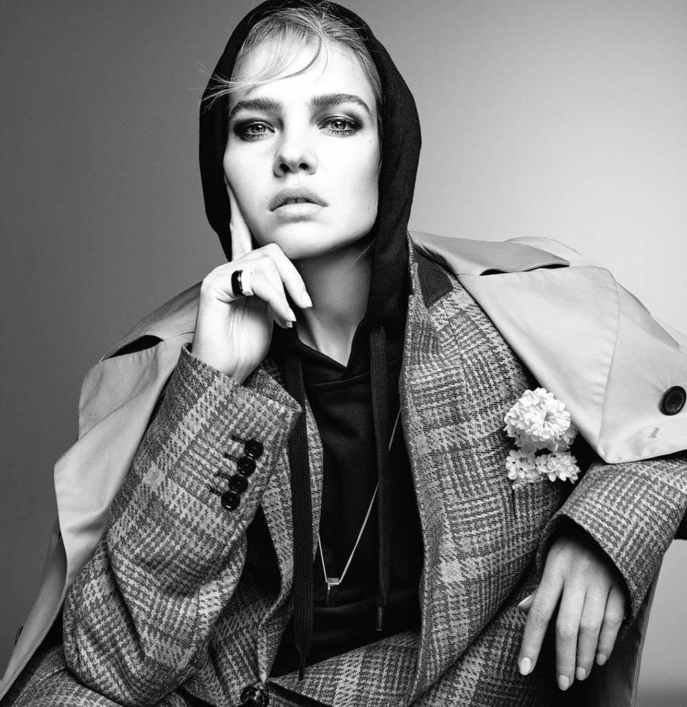 Natalia Vodianova covers Vogue Poland May 2018 by Christian MacDonald