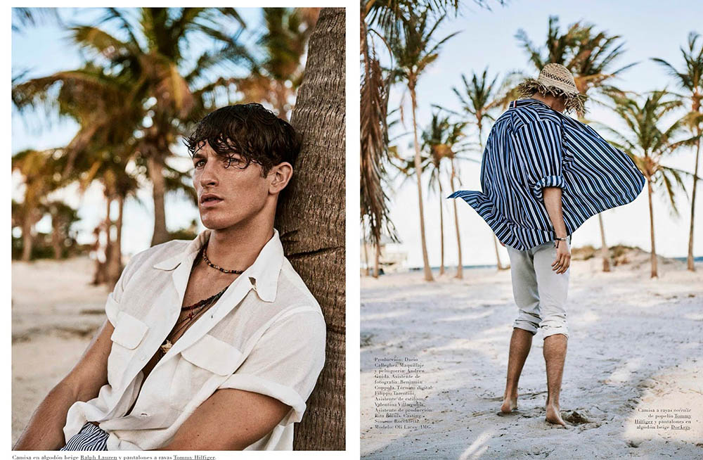 Oli Lacey by Giampaolo Sgura for GQ Spain May 2018