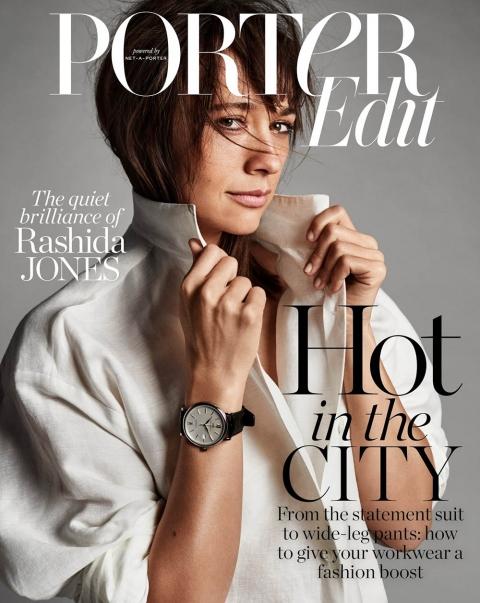 Rashida Jones covers Porter Edit May 18th, 2018 by Billy Kidd