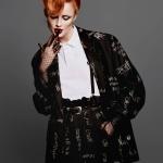 Rianne van Rompaey by Alasdair McLellan for Vogue Paris May 2018