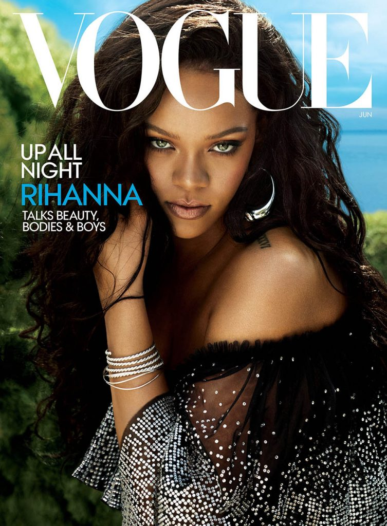 Rihanna covers Vogue US June 2018 by Mert & Marcus