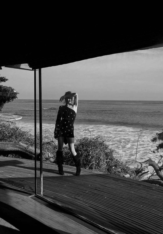 Rosie Huntington-Whiteley covers Harper's Bazaar Australia June 2018 by Darren McDonald