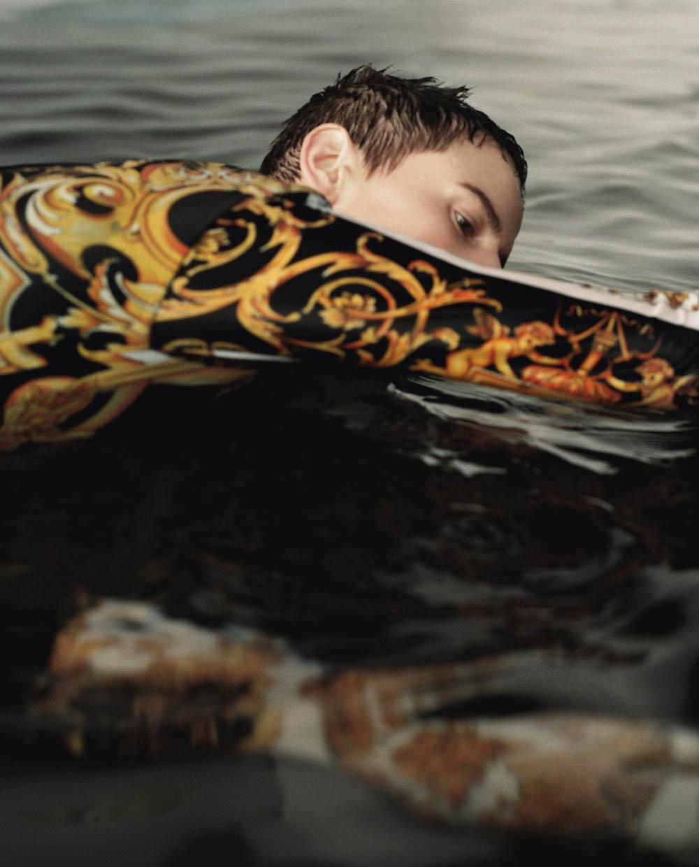 Saskia de Brauw by Dario Catellani for Vogue Italia May 2018