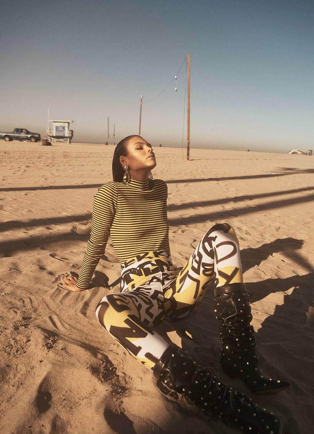 Vittoria Ceretti by Lachlan Bailey for Vogue Paris June 2018