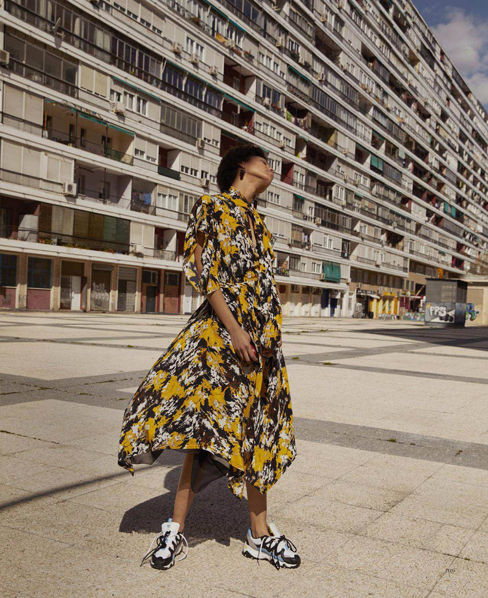 Afrodita Dorado by Jesse Laitinen for Marie Claire US July 2018