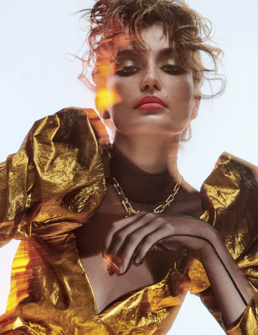 Andreea Diaconu by Giampaolo Sgura for Vogue Mexico June 2018