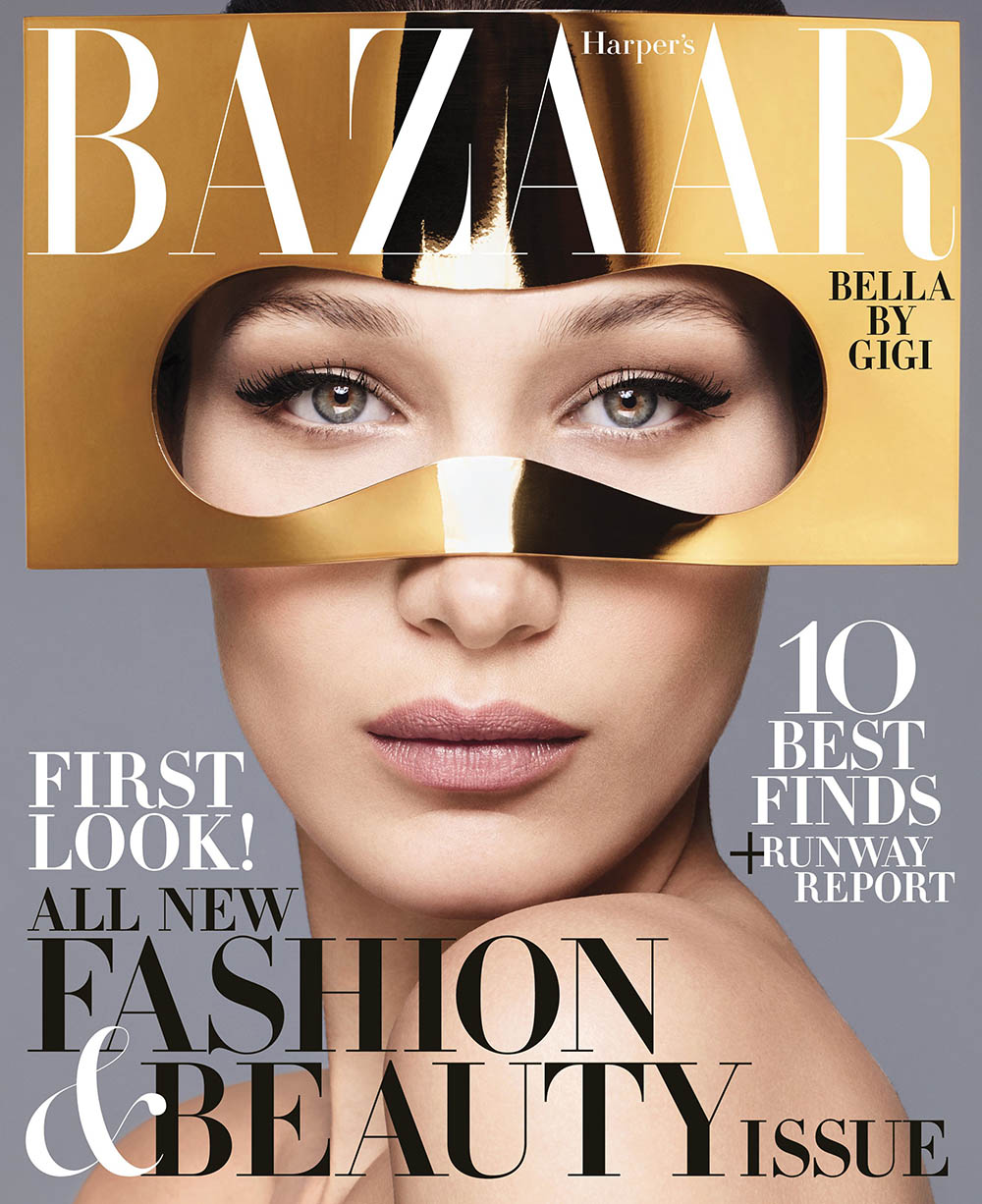 Bella Hadid covers Harper's Bazaar US June 2018 by Sølve Sundsbø