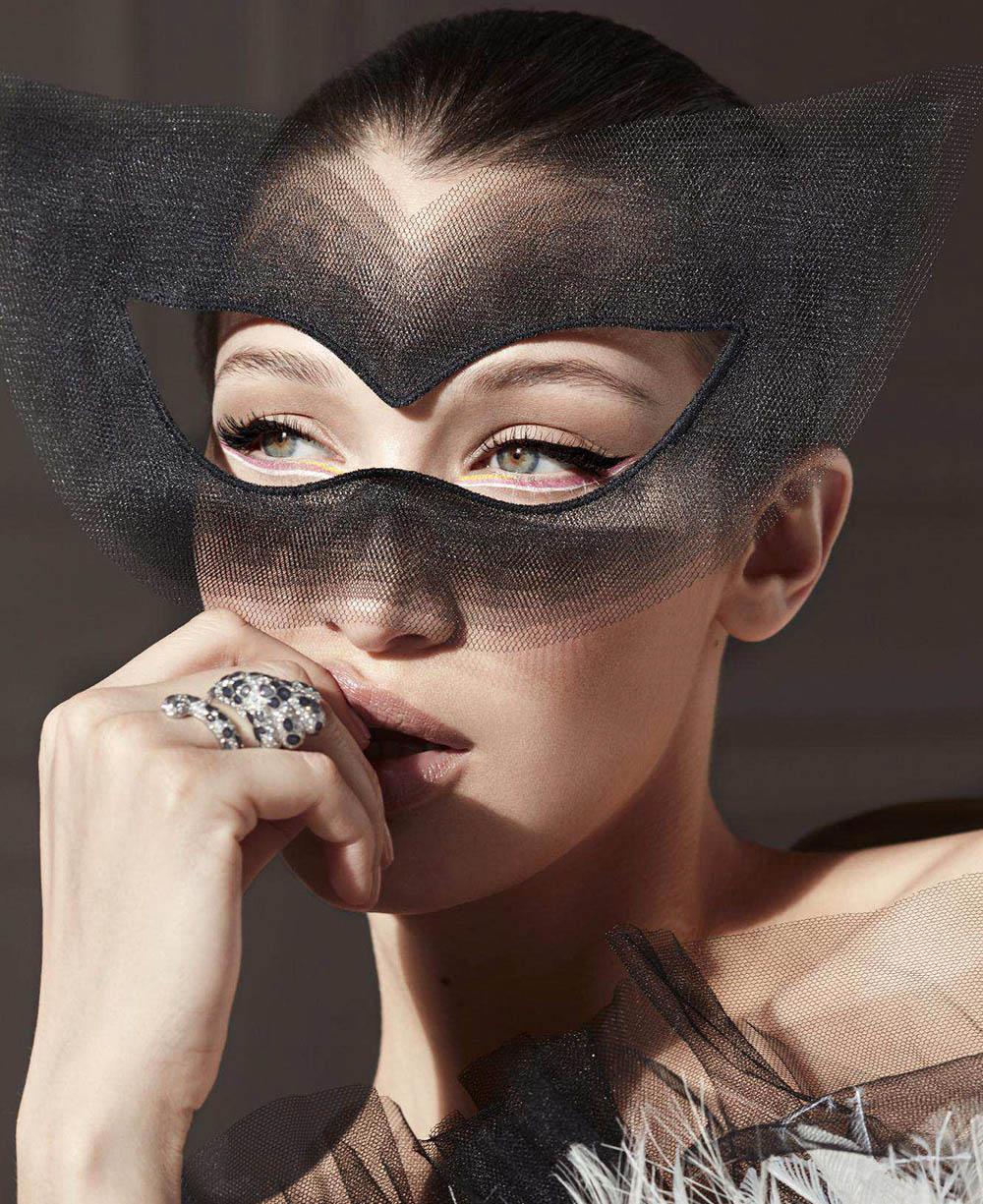 Bella Hadid covers Harper's Bazaar US June 2018 by Sølve Sundsbø