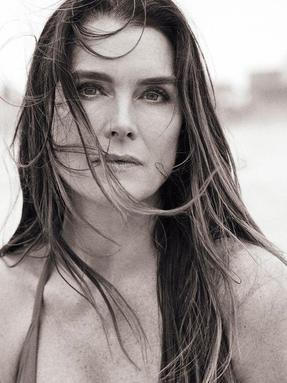 Brooke Shields covers Porter Edit June 8th, 2018 by Bjorn Iooss