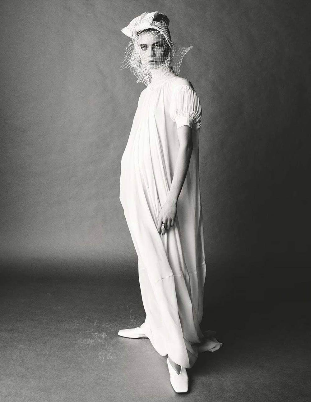 Cara Delevingne covers British Vogue June 2018 by Steven Meisel